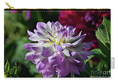 Victoria Ann Dahlia Carry-all Pouch by Glenn Franco Simmons