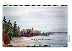 Victoria Beach In Manitoba Carry-all Pouch