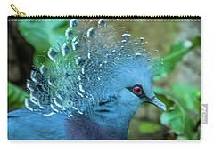 Victoria Crowned Pigeon Carry-all Pouch