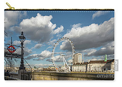 Victoria Embankment Carry-all Pouch by Adrian Evans
