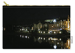 Victoria Harbor Night View Carry-all Pouch