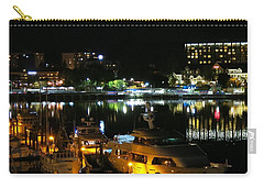 Victoria Inner Harbor At Night Carry-all Pouch