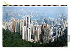 Carry-all Pouch featuring the photograph Victoria Peak 1 by Randall Weidner