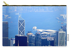 Carry-all Pouch featuring the photograph Victoria Peak 2 by Randall Weidner