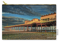 Carry-all Pouch featuring the photograph Victoria Pier 1899 by Adrian Evans
