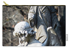 Victorian Angel Contemplating Carry-all Pouch