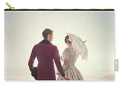 Victorian Couple Standing In A Meadow Carry-all Pouch