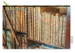 Victorian Library Carry-all Pouch by Isabella F Abbie Shores FRSA