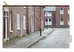 Victorian Terraced Street Of Working Class Red Brick Houses Carry-all Pouch by Lee Avison