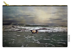 Victory Bald Eagle Art Carry-all Pouch by Jai Johnson