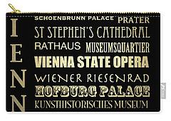 Vienna Austria Famous Landmarks Carry-all Pouch