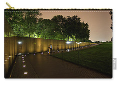 Vietnam Memorial By Night Carry-all Pouch