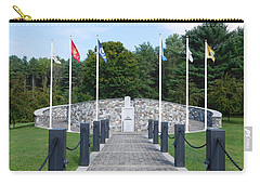 Vietnam Memorial In Vermont Carry-all Pouch