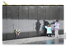 Vietnam Wall Family Carry-all Pouch