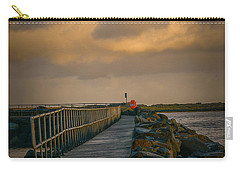 Carry-all Pouch featuring the photograph View At Staffin 1 #g9 by Leif Sohlman