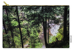 Carry-all Pouch featuring the photograph View Downhill by Joseph Hollingsworth