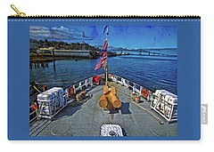 Carry-all Pouch featuring the photograph View From The Deck by Thom Zehrfeld