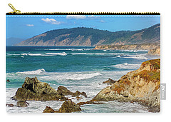 View From Abalone Point Carry-all Pouch