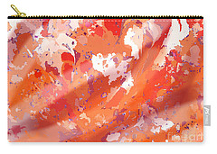 View From Above In Orange Carry-all Pouch