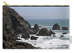 View From Bodega Head In Bodega Bay Ca - 4 Carry-all Pouch