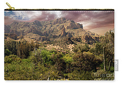 View From Boyce Thompson Carry-all Pouch by Anne Rodkin