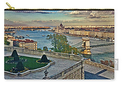 View From Castle Hill, Budapest, Hungary Carry-all Pouch