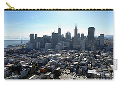 Carry-all Pouch featuring the photograph View From Coit Tower by Steven Spak