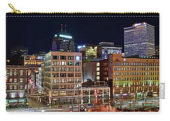 Carry-all Pouch featuring the photograph View From Gateway by Frozen in Time Fine Art Photography