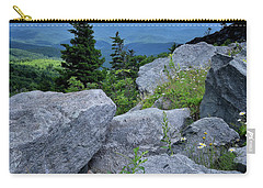 View From Grandfather Mtn Nc Carry-all Pouch