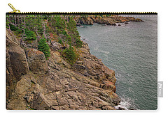 Carry-all Pouch featuring the photograph View From Gulliver's Hole by Rick Berk