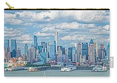 Carry-all Pouch featuring the photograph View From New Jersey 2 by Theodore Jones