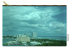 Carry-all Pouch featuring the photograph View From Port Everglades by Judy Hall-Folde
