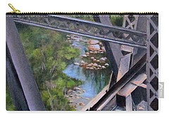 View From The Bridge--sedona, Az Carry-all Pouch by Mary McCullah