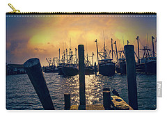 View From The Dock Carry-all Pouch by John Rivera
