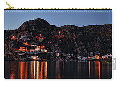 View From The Harbor St Johns Newfoundland Canada At Dusk Carry-all Pouch