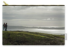 Carry-all Pouch featuring the photograph View From The Old Man Of Storr, Isle Of Skye, Uk by Dubi Roman