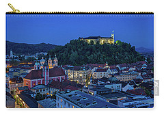 Carry-all Pouch featuring the photograph View From The Skyscraper #2 - Slovenia by Stuart Litoff