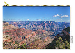 Carry-all Pouch featuring the photograph View From The South Rim by John M Bailey