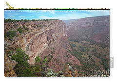 Carry-all Pouch featuring the photograph View From The Top by Anne Rodkin