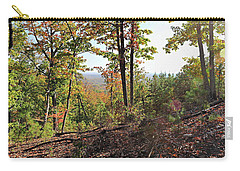 View From The Top Of Brown's Mountain Trail, Kings Mountain Stat Carry-all Pouch