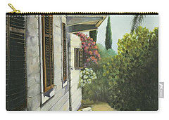 View In A Croatian Garden Carry-all Pouch