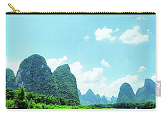 A Moment On Li River Carry-all Pouch