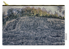 View Of A Quarry Carry-all Pouch
