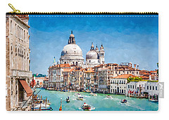 View Of Canal Grande Carry-all Pouch