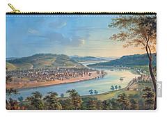View Of Cincinnati From Covington Carry-all Pouch by John Caspar Wild
