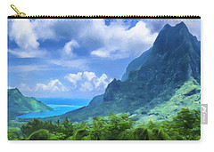 View Of Cook's Bay Mo'orea Carry-all Pouch