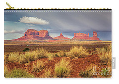 View Of Monument Valley Carry-all Pouch