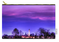 View Of San Giorgio Lomellina Carry-all Pouch