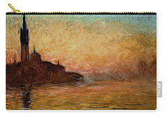 View Of San Giorgio Maggiore Carry-all Pouch by Claude Monet
