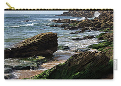 View Of Santa Rita Beach In Torres Vedras Carry-all Pouch